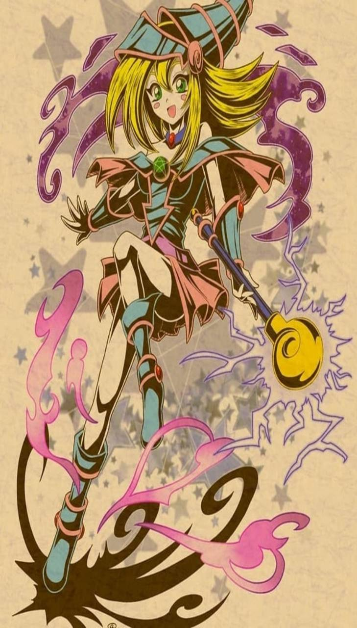 Dark Magician Girl Wallpaper By Ahmedbukhari95 Cf Free On Zedge