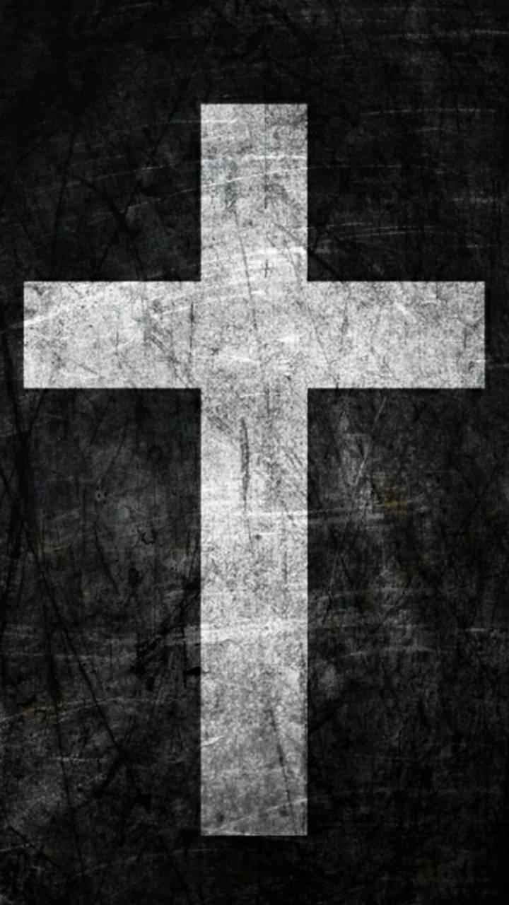 Black White Cross