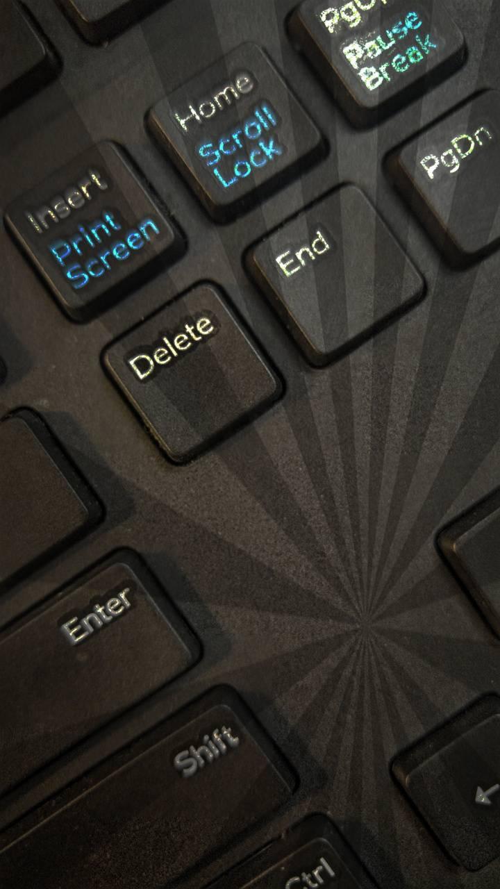 Sunburn keyboard