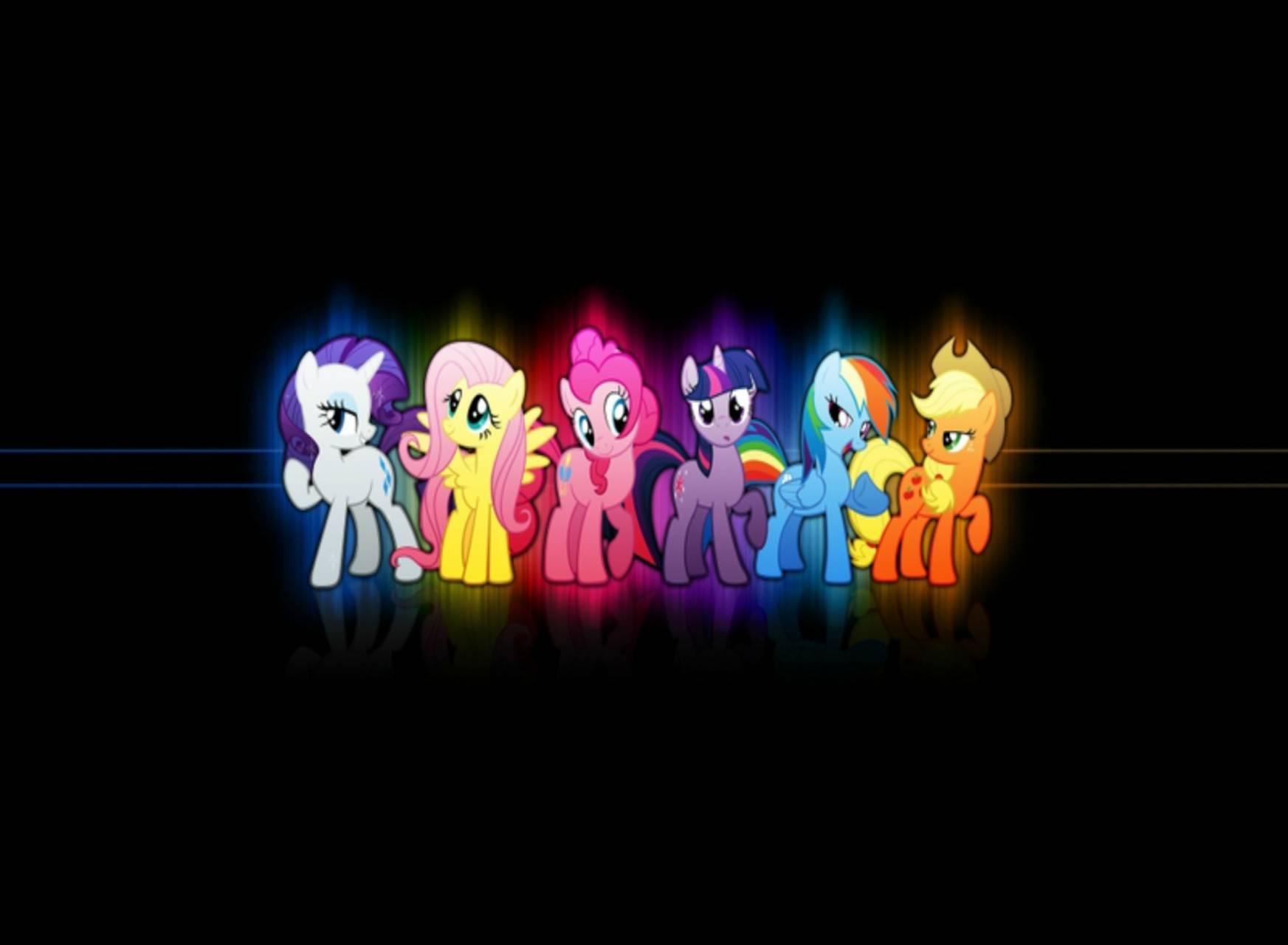 neon my little pony
