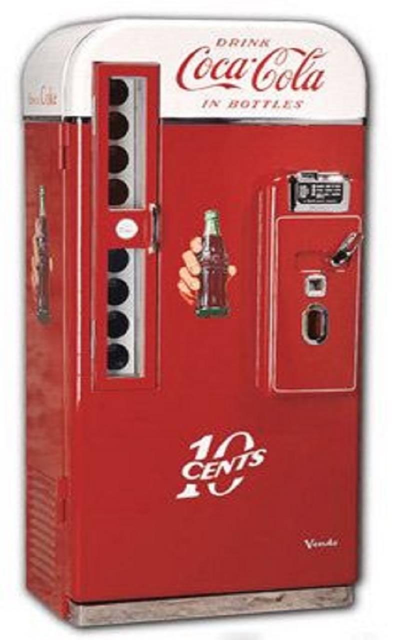 classic cola machine