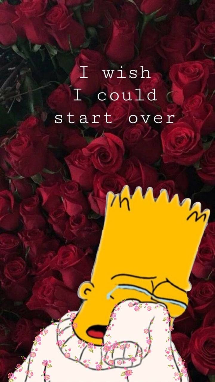 Crying Bart