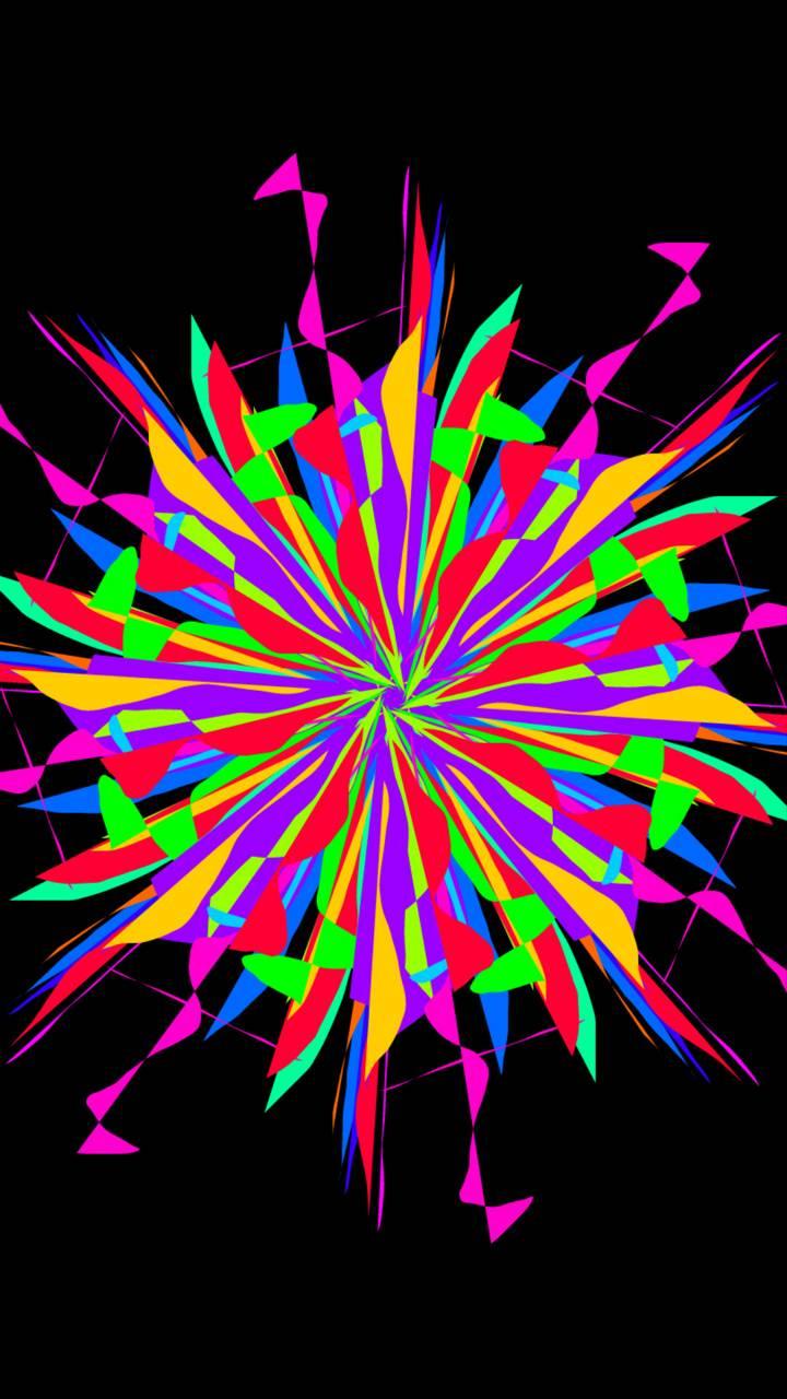 Colored burst