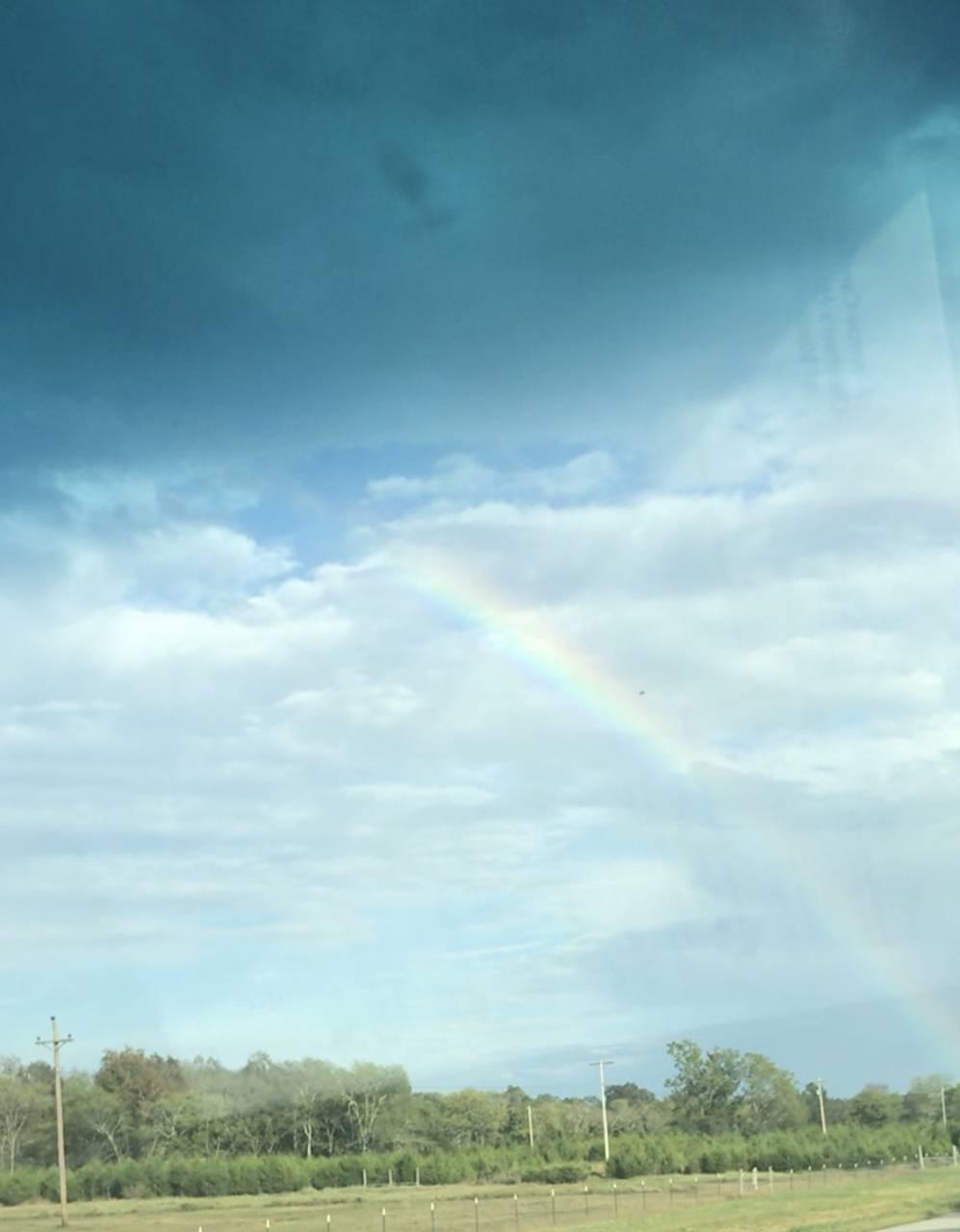 Over a rainbow