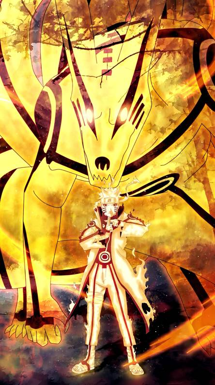 Naruto Nine Tails Fox Wallpapers Free By Zedge
