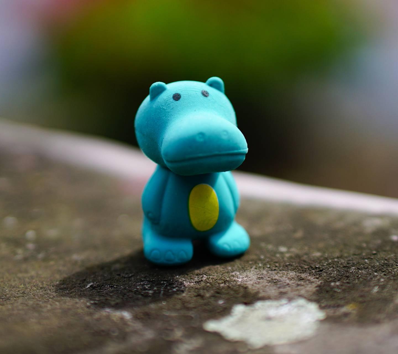 Sad Toy Hippo