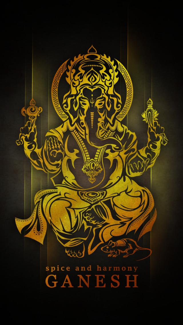 Tribal Ganesh