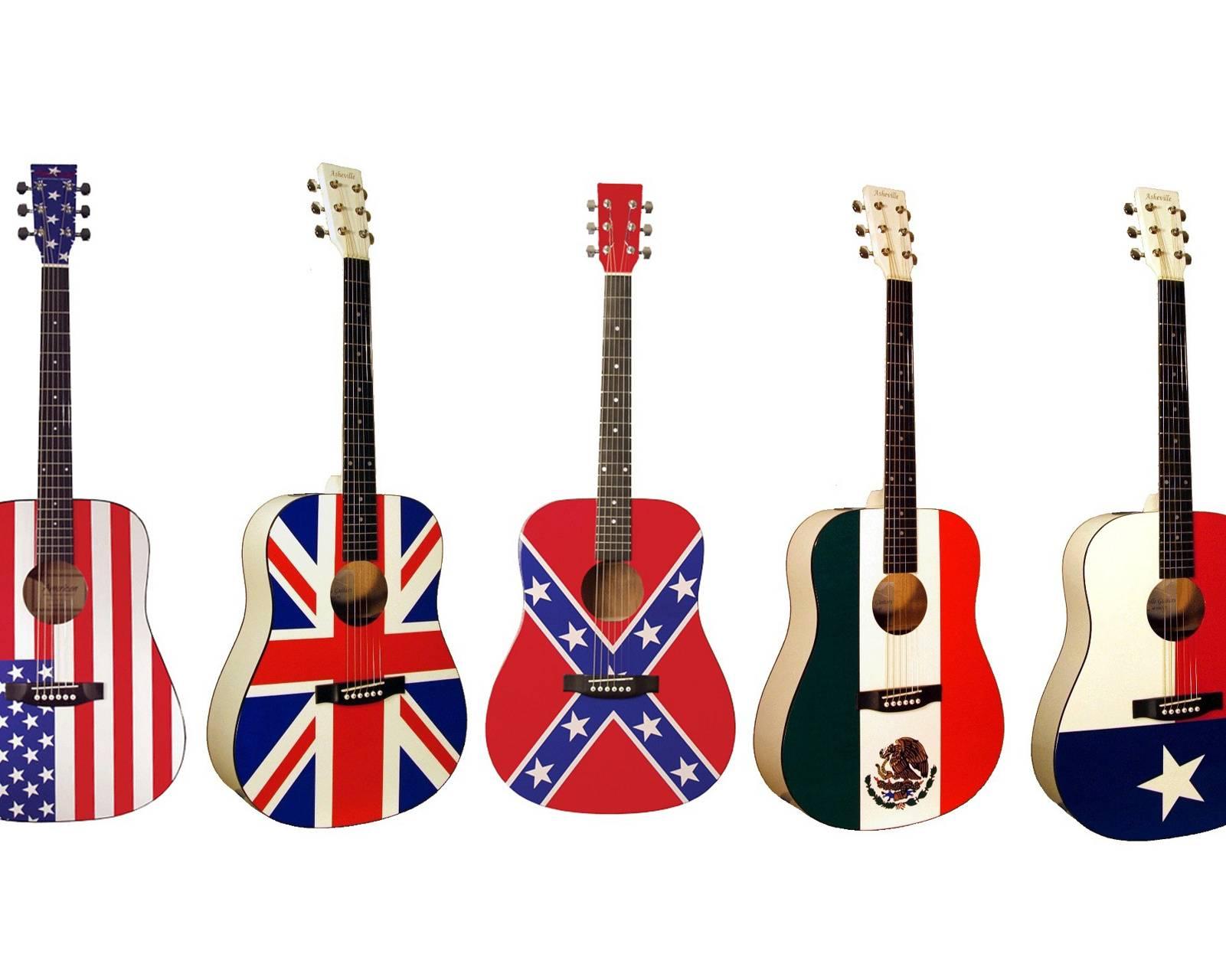 Guitar Flags