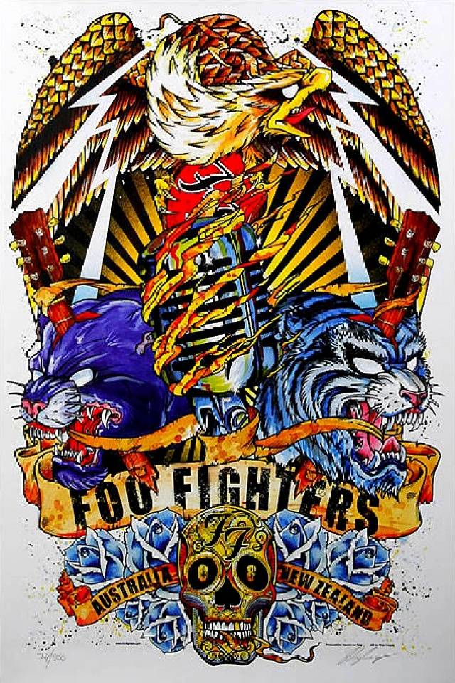 Foo Fighters Wallpaper By VoodooBunny