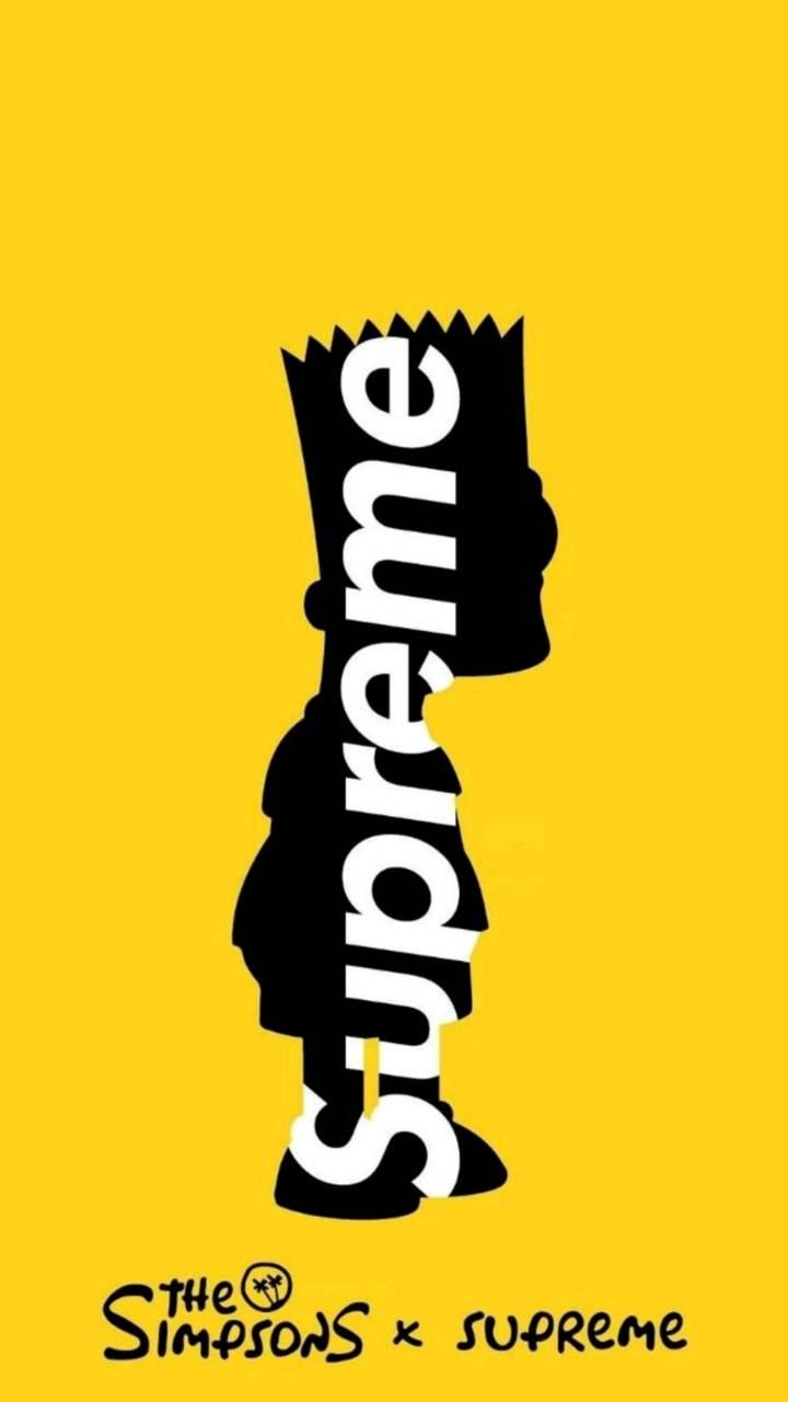 Supreme bart wallpaper by Trippie_future - 9f - Free on ZEDGE™