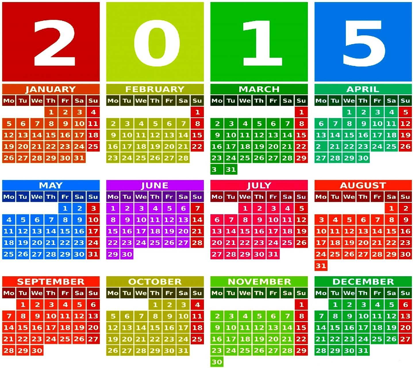 ZEDGE calendar