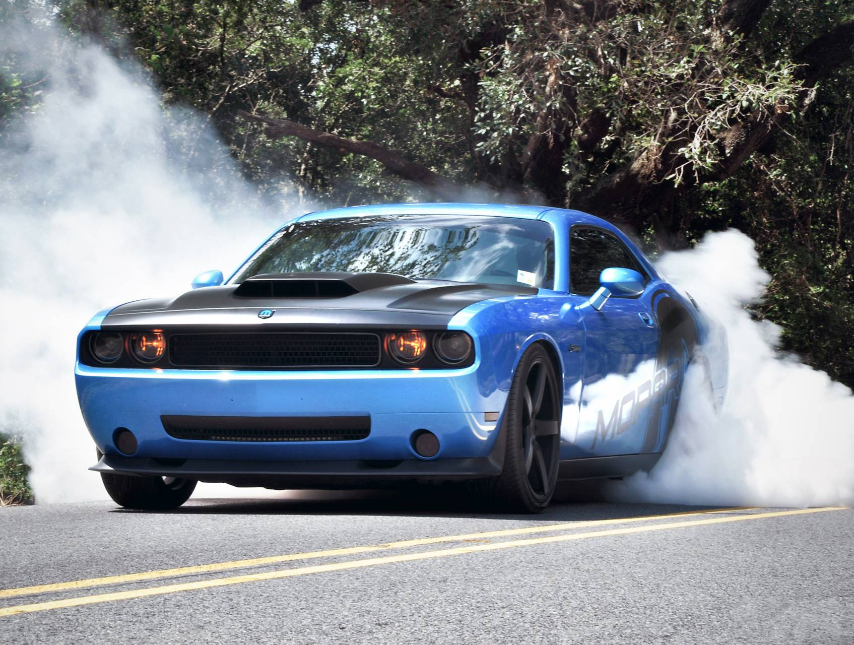 Dodge drifting