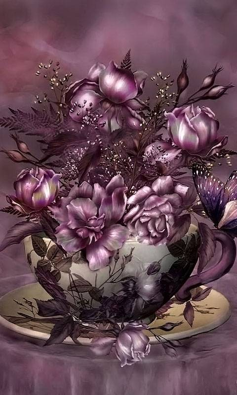 Roses-purple