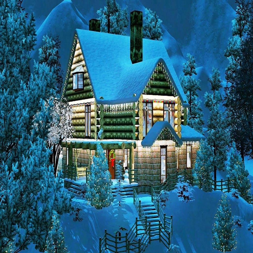 Christmas Log House