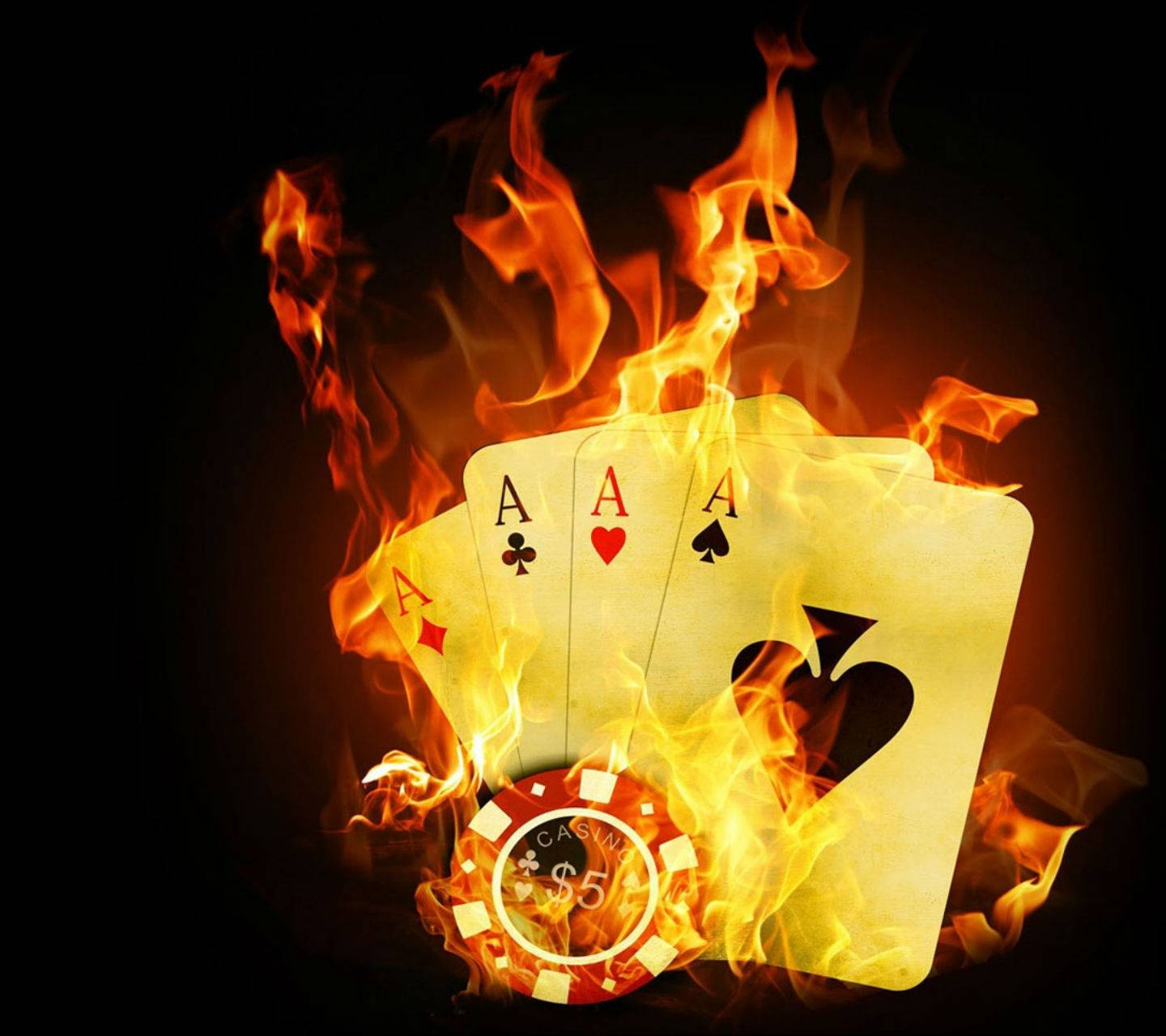 3d casino cards wallpaper__lov3abl3__ - be - free on zedge™