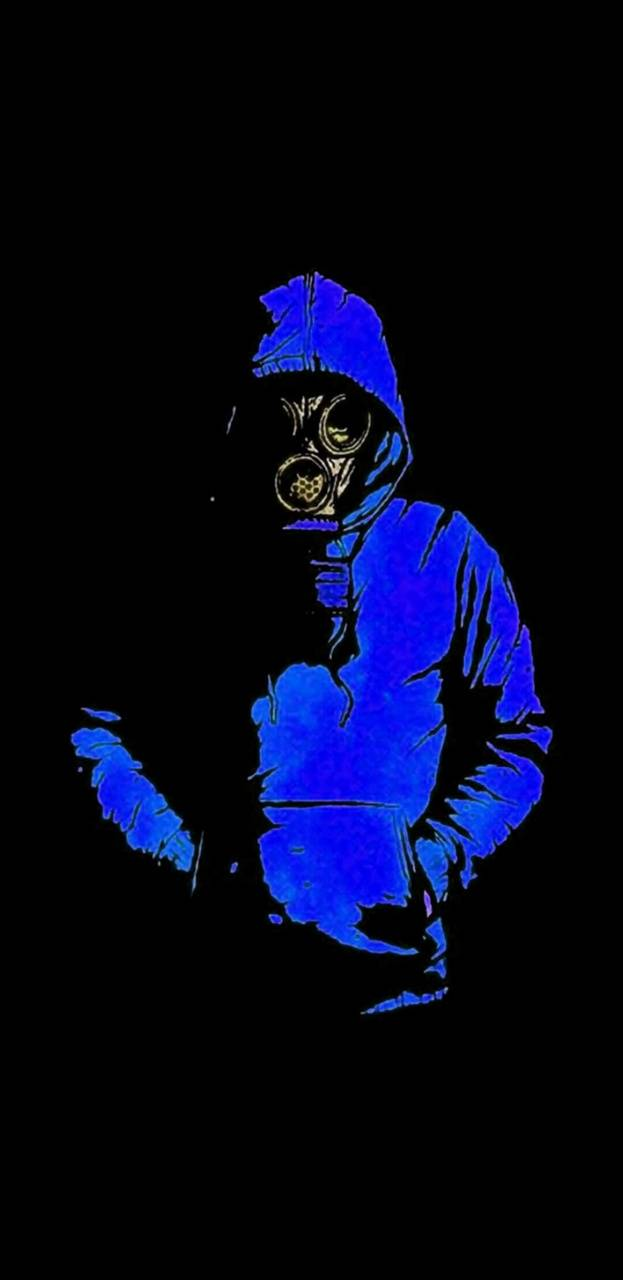 Toxic blue