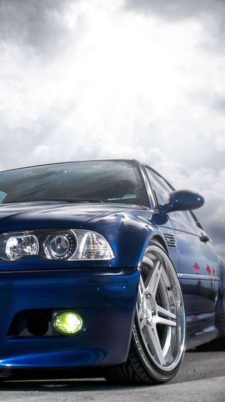 Blue Bmw M3