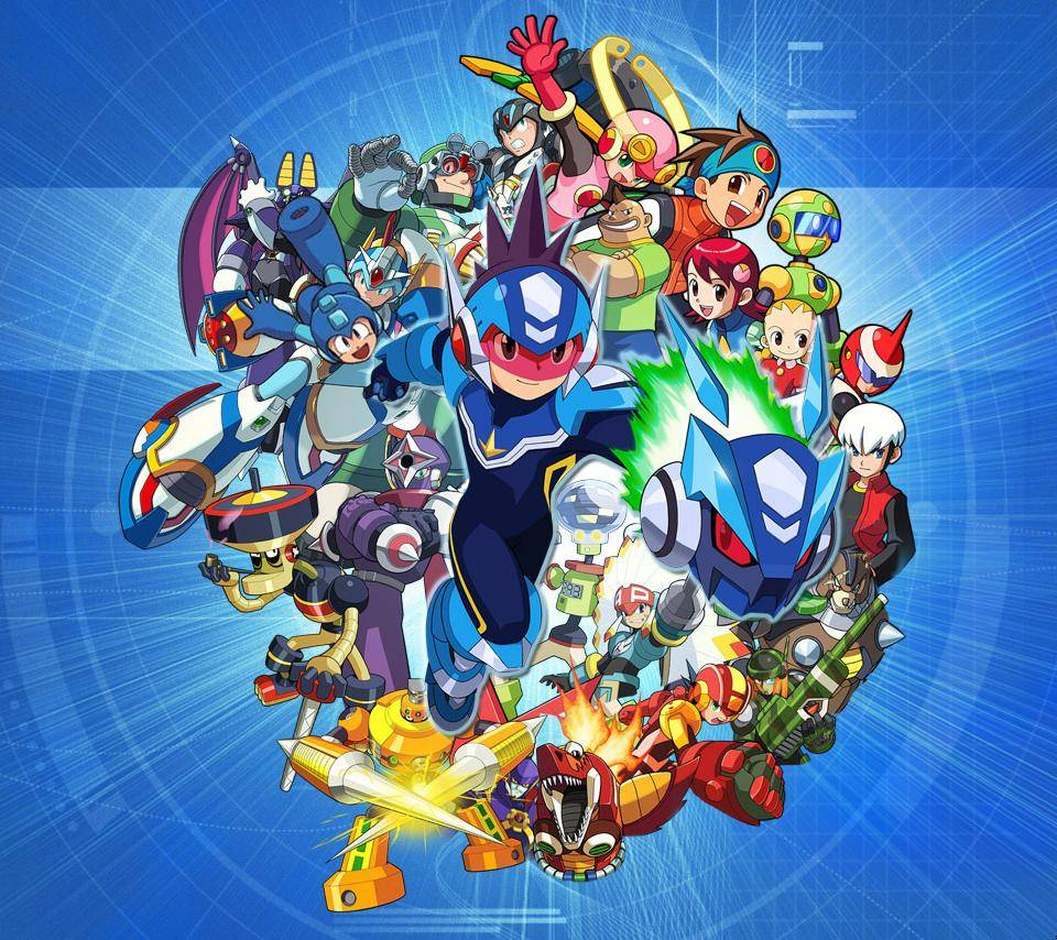Megaman 20th An