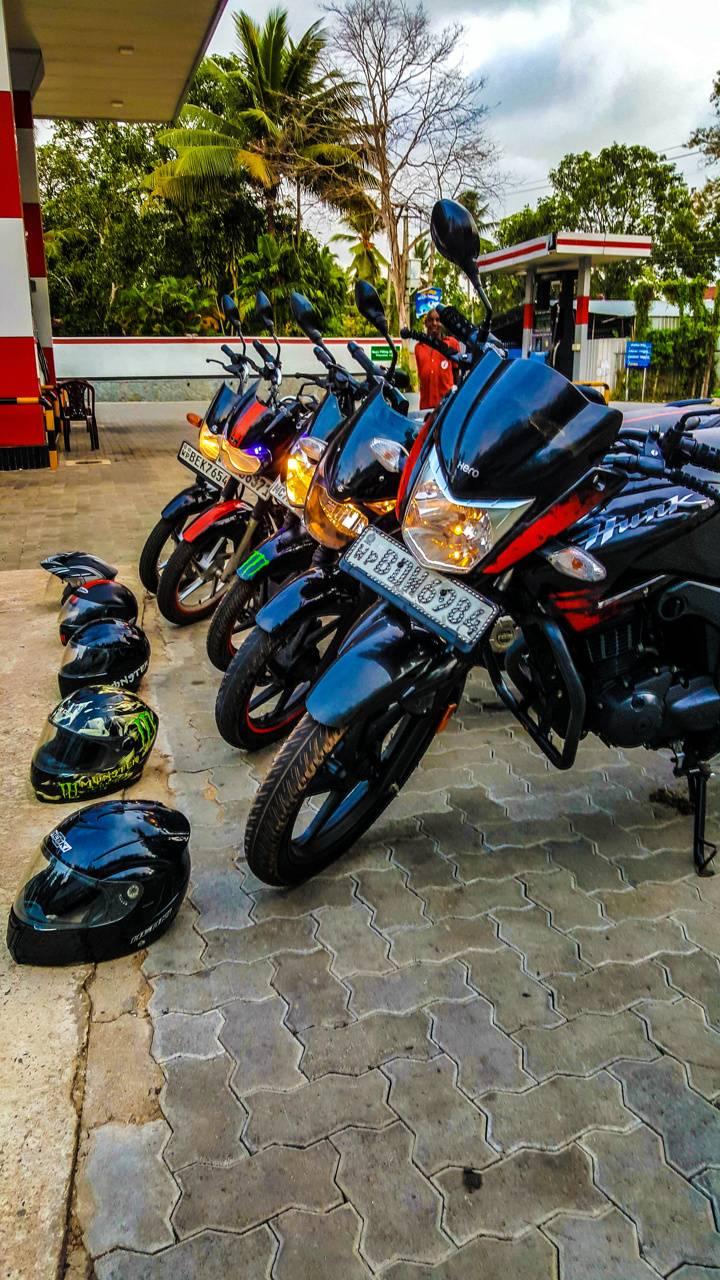 Travel bike Riders