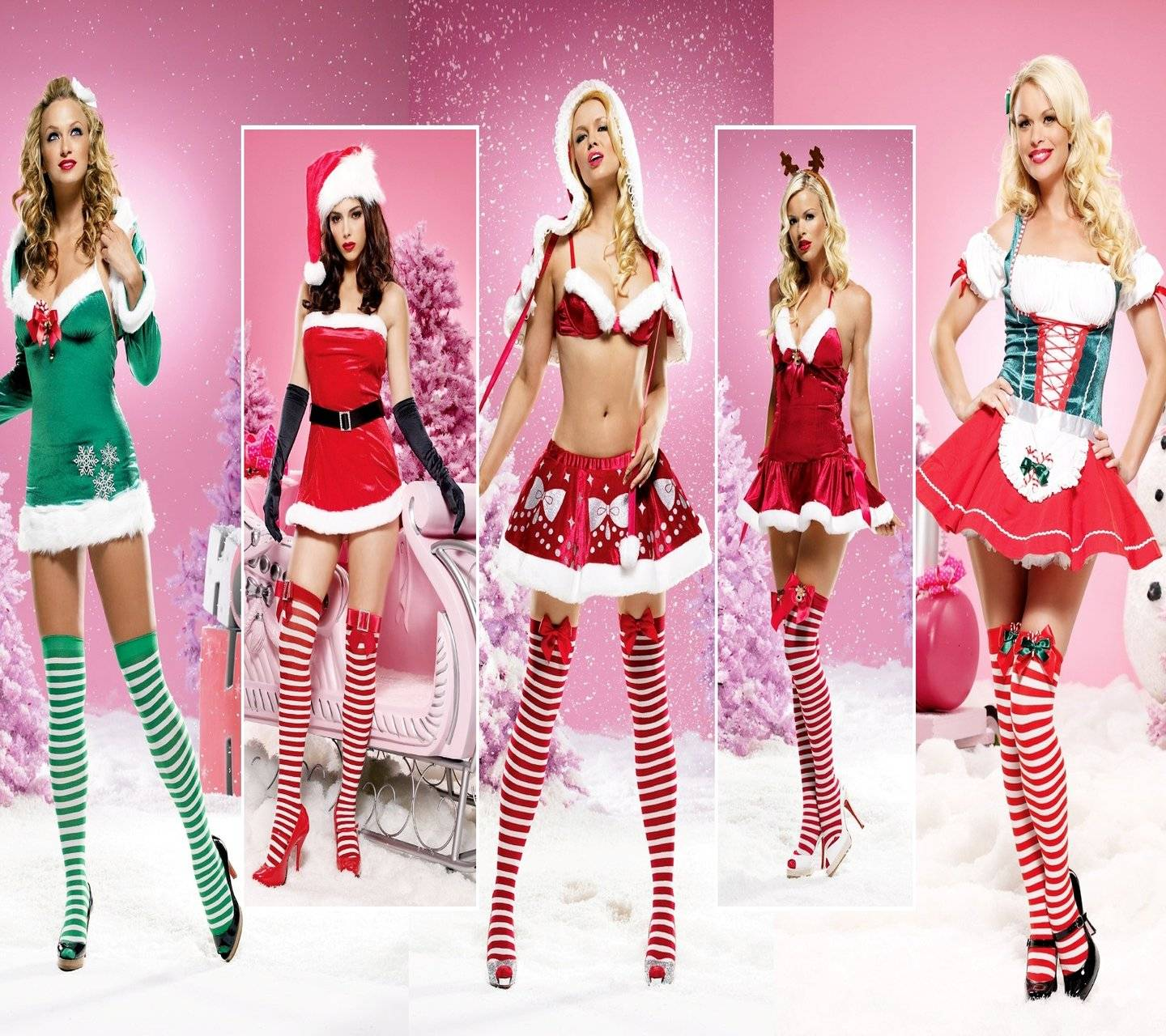 Christmas Babes.Christmas Babes Wallpaper By Lovey 26 Free On Zedge