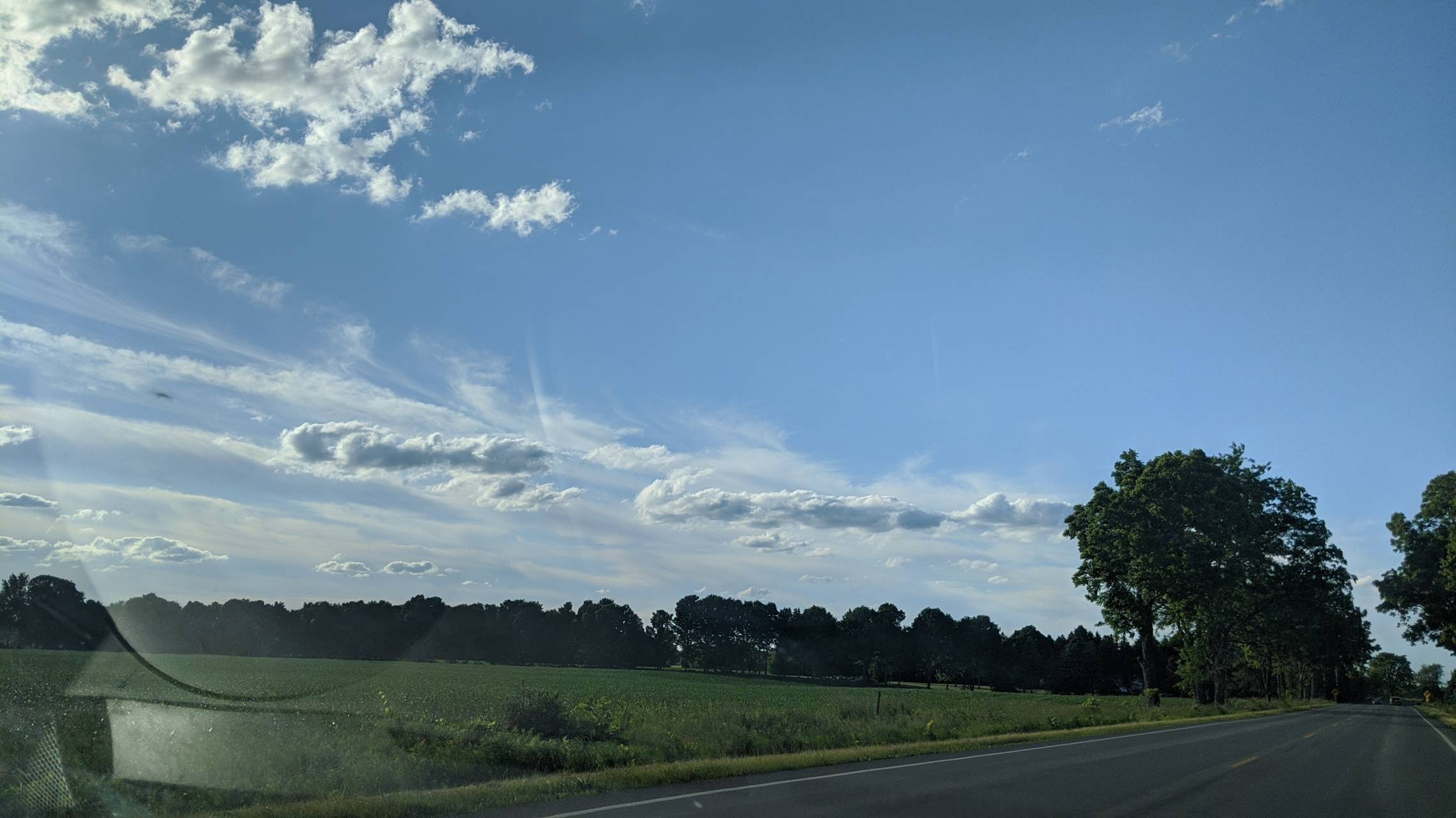 Country sky