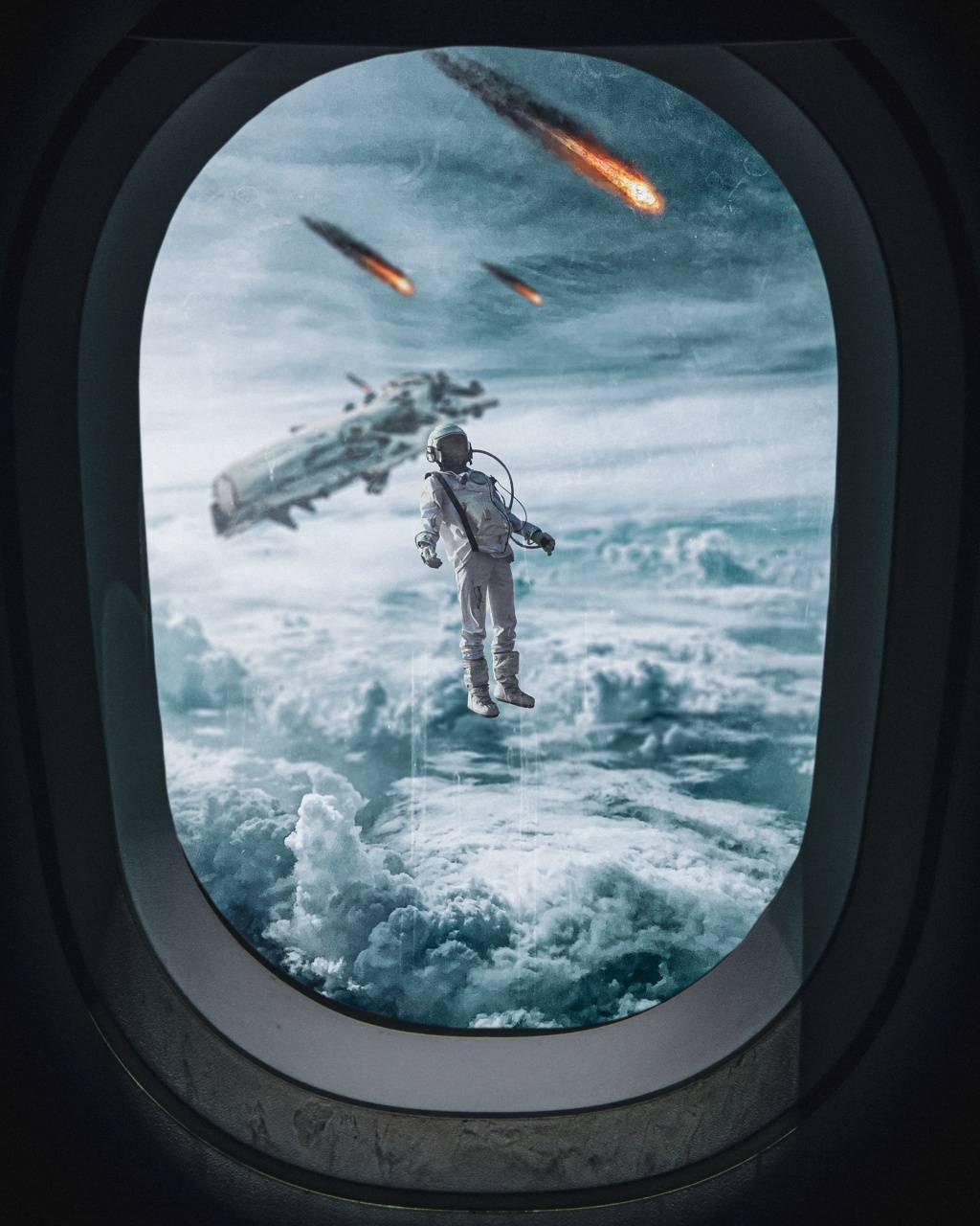 Floating Astronaut