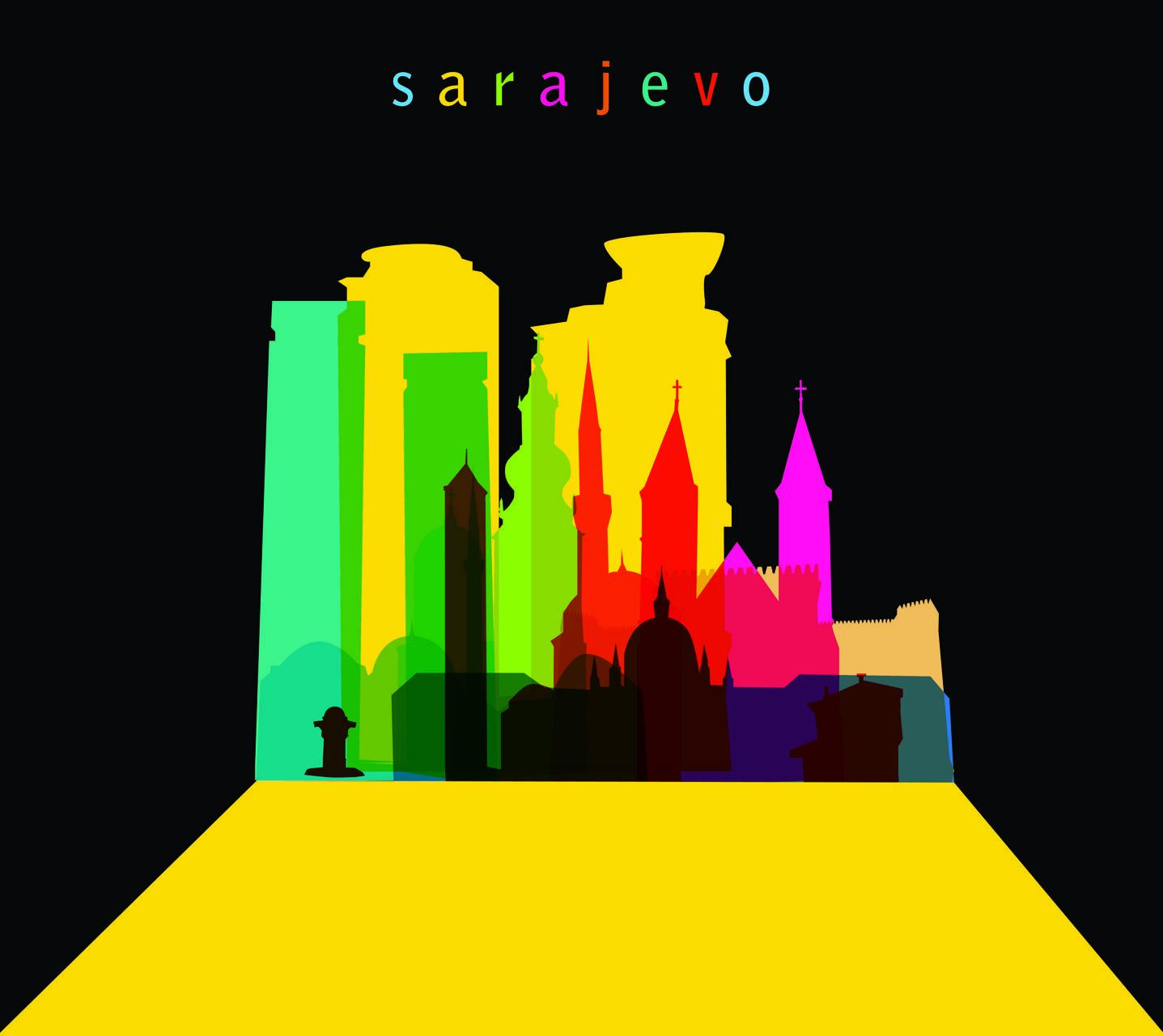 Colorful Sarajevo
