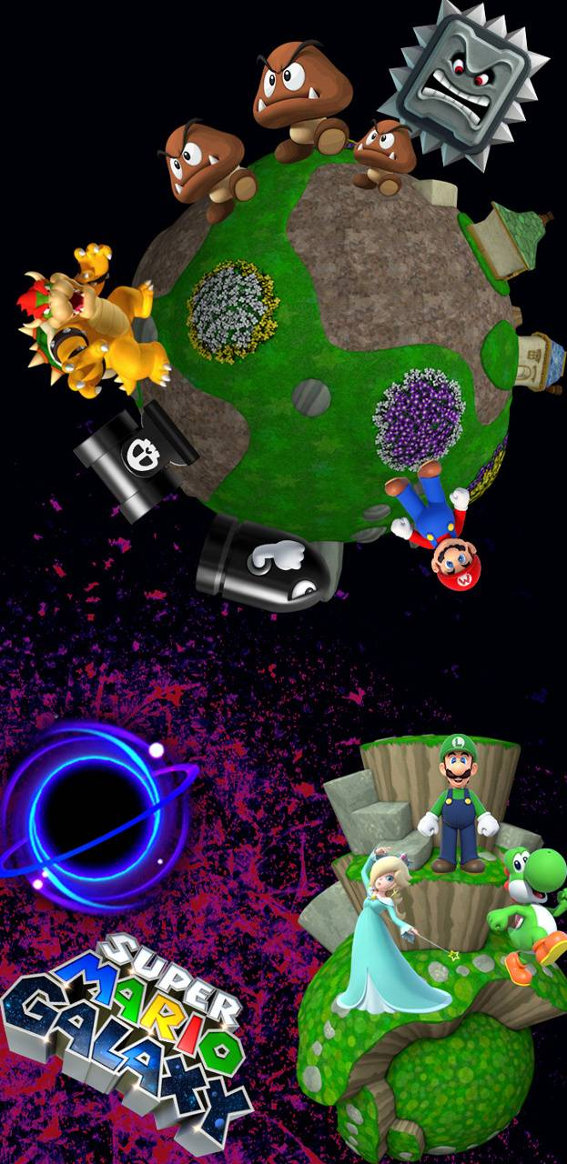Super Mario Galaxy Wallpaper By Pingupilky 52 Free On