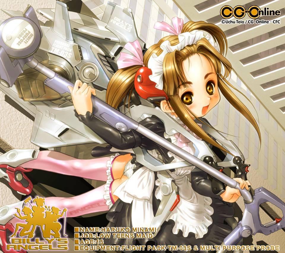 Angel Anime Maid