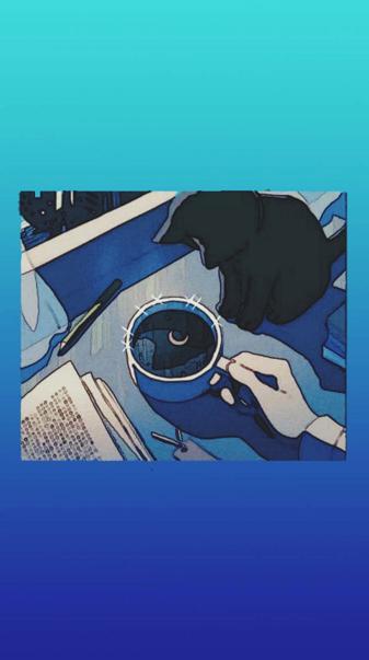 Aesthetic anime