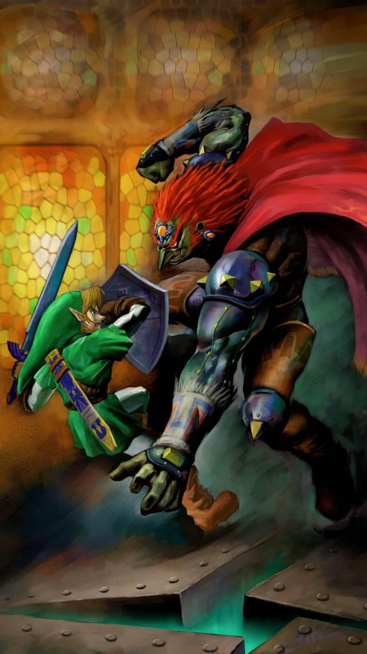 Link Vs Ganondorf Wallpaper By Oscareriol