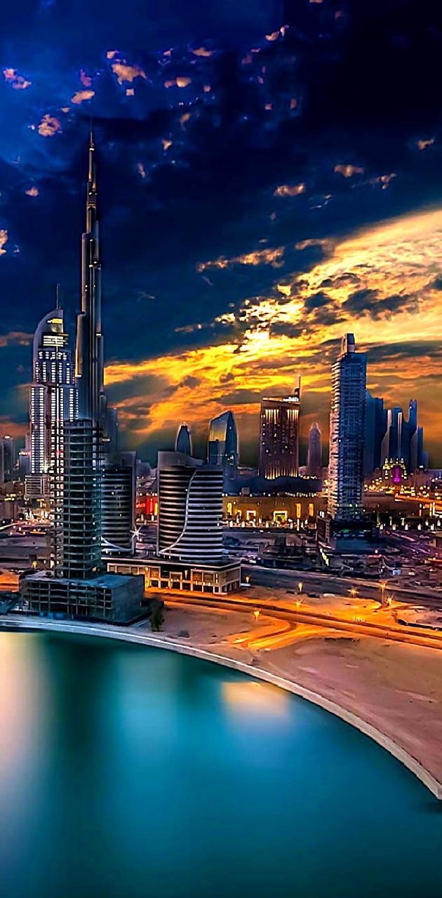 city at night------
