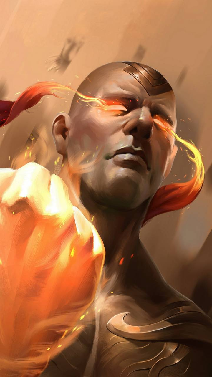 God Fist Lee Sin Wallpaper By X Tive 8d Free On Zedge