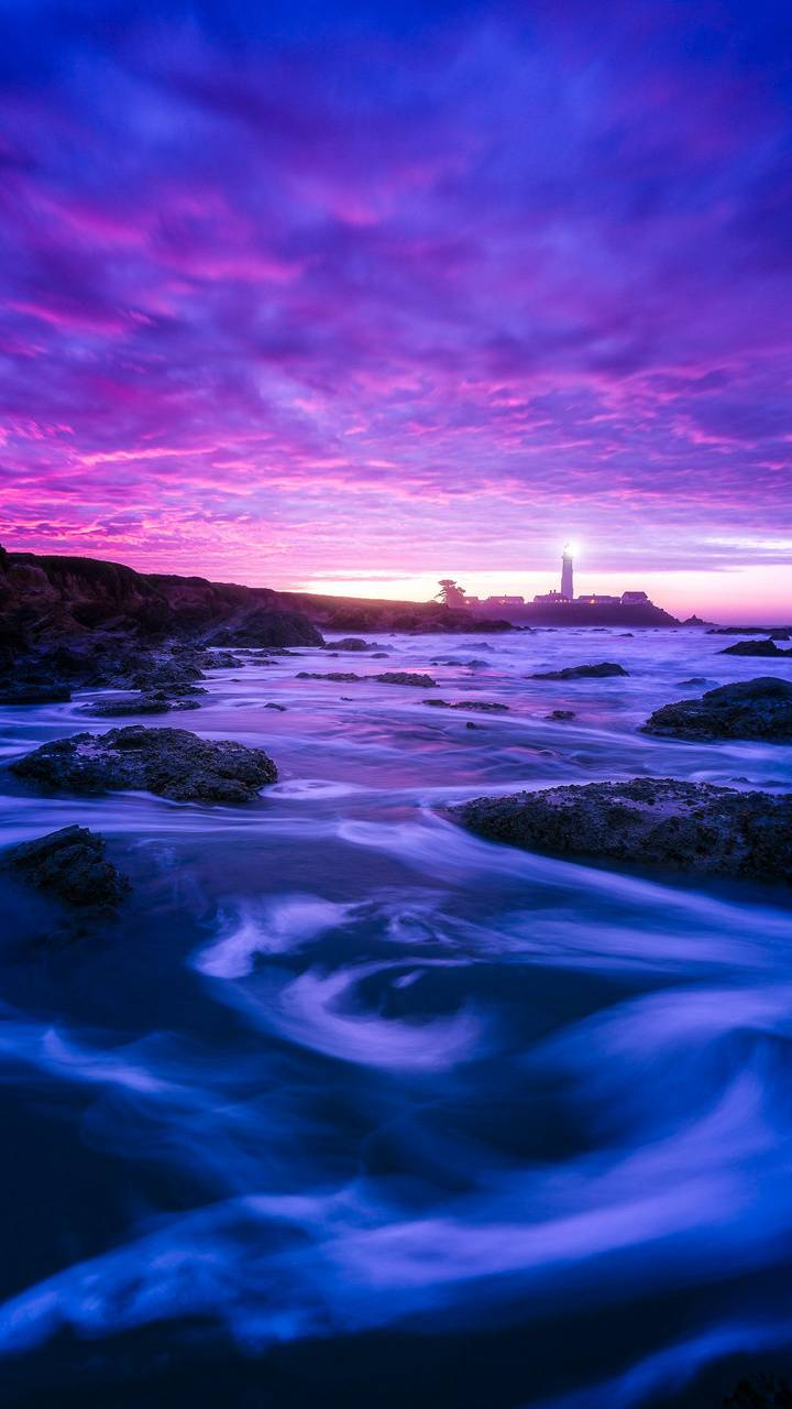 Purple Sunset Wallpaper By Karmasagent 7b Free On Zedge