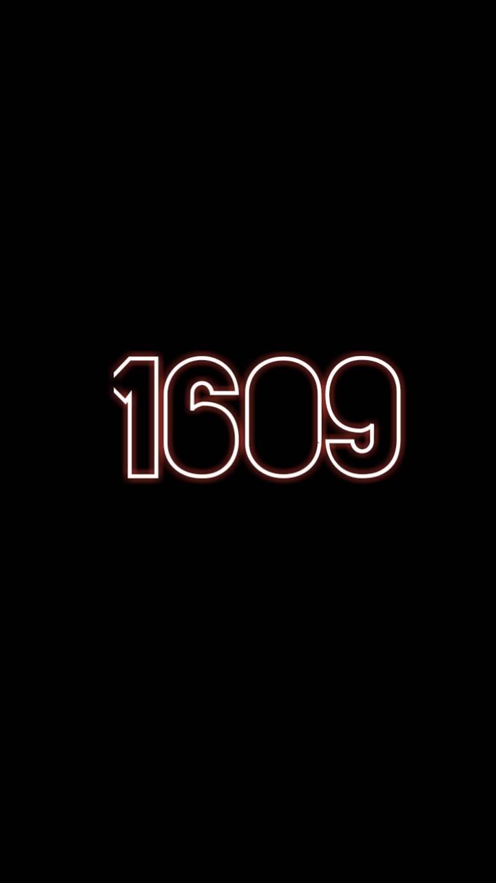 Black 1609