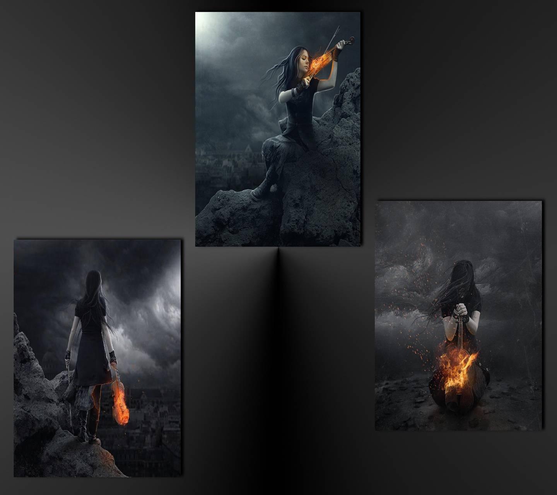 Dark Fire Beauties