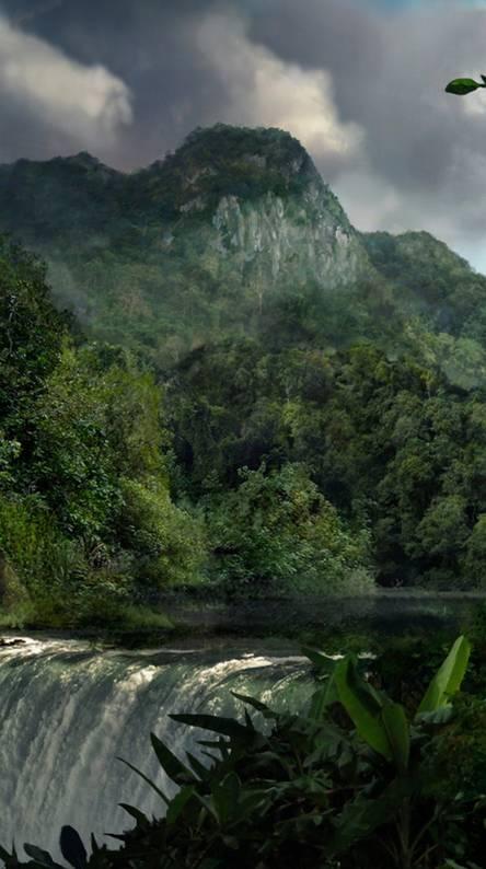 Waterfalls Nature Hd