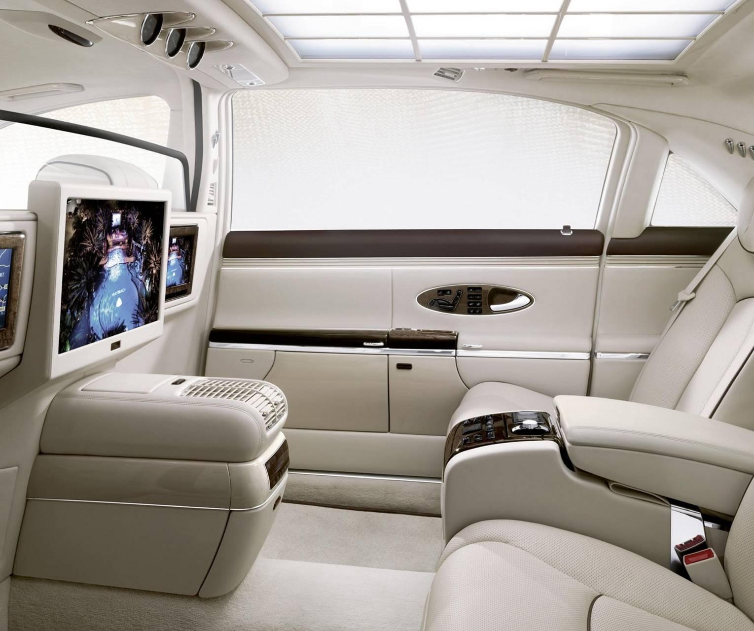 Maybach 62 Interior