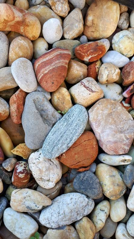 Colourful stones