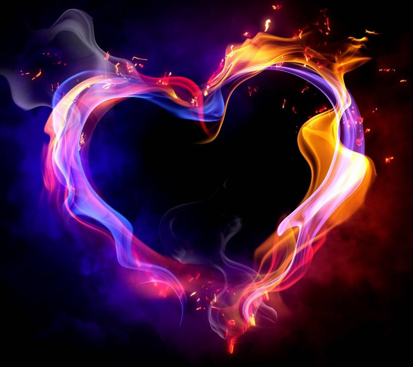 Fire Heart Love