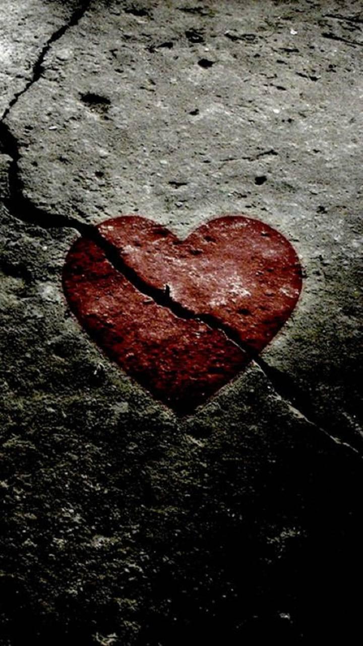 картинки грустные сердечки это