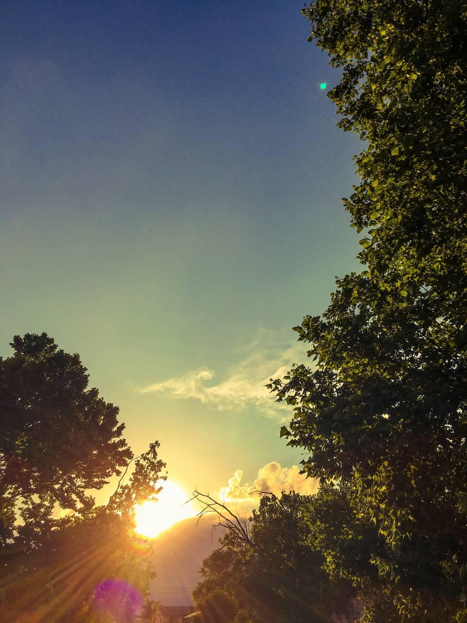 Sparkle of my sky