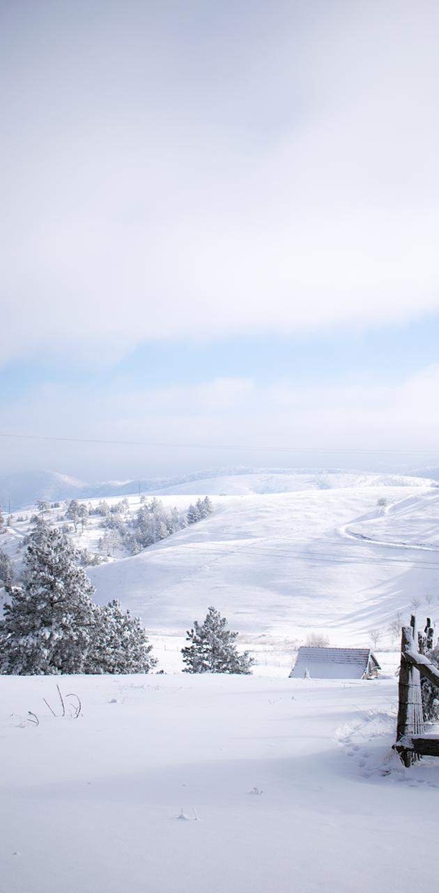 Winter snow magic