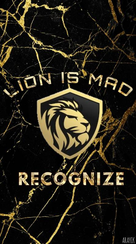 Lion is Mad