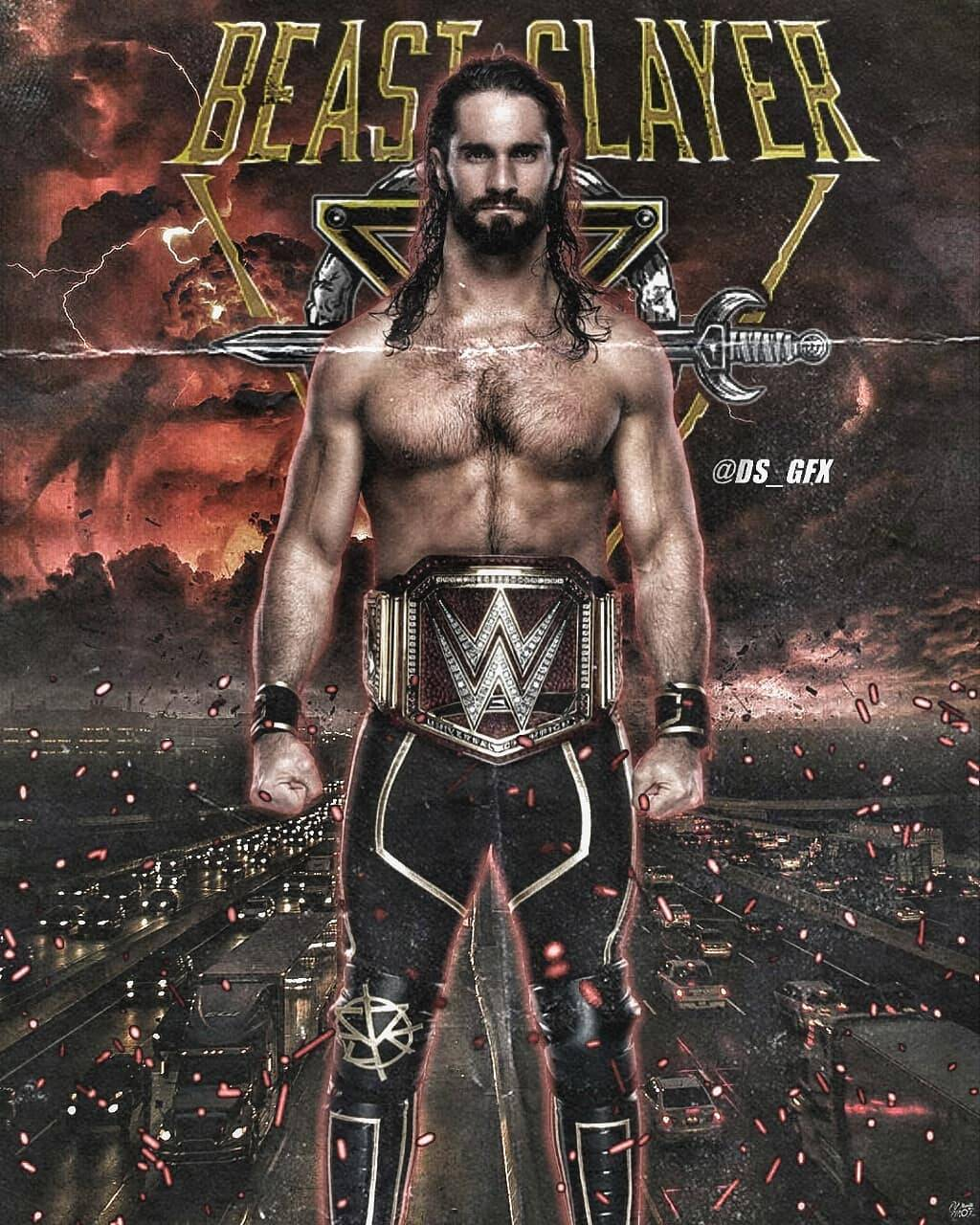 Seth Rollins wallpaper by mattrobs81