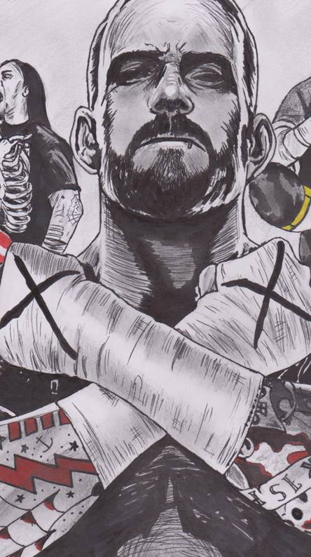 Cm Punk Wallpapers Free By Zedge