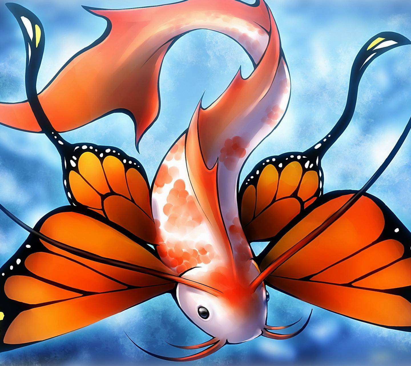 Fish Butterfly