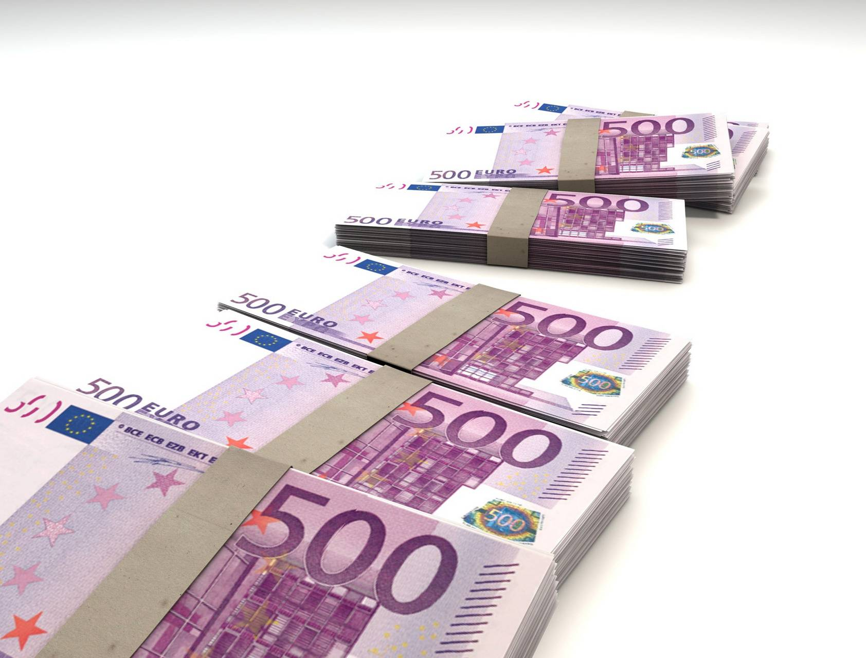 Paper Euro Stack