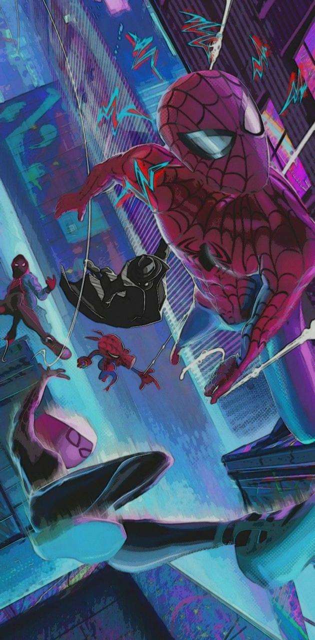 Spiderman multiverse