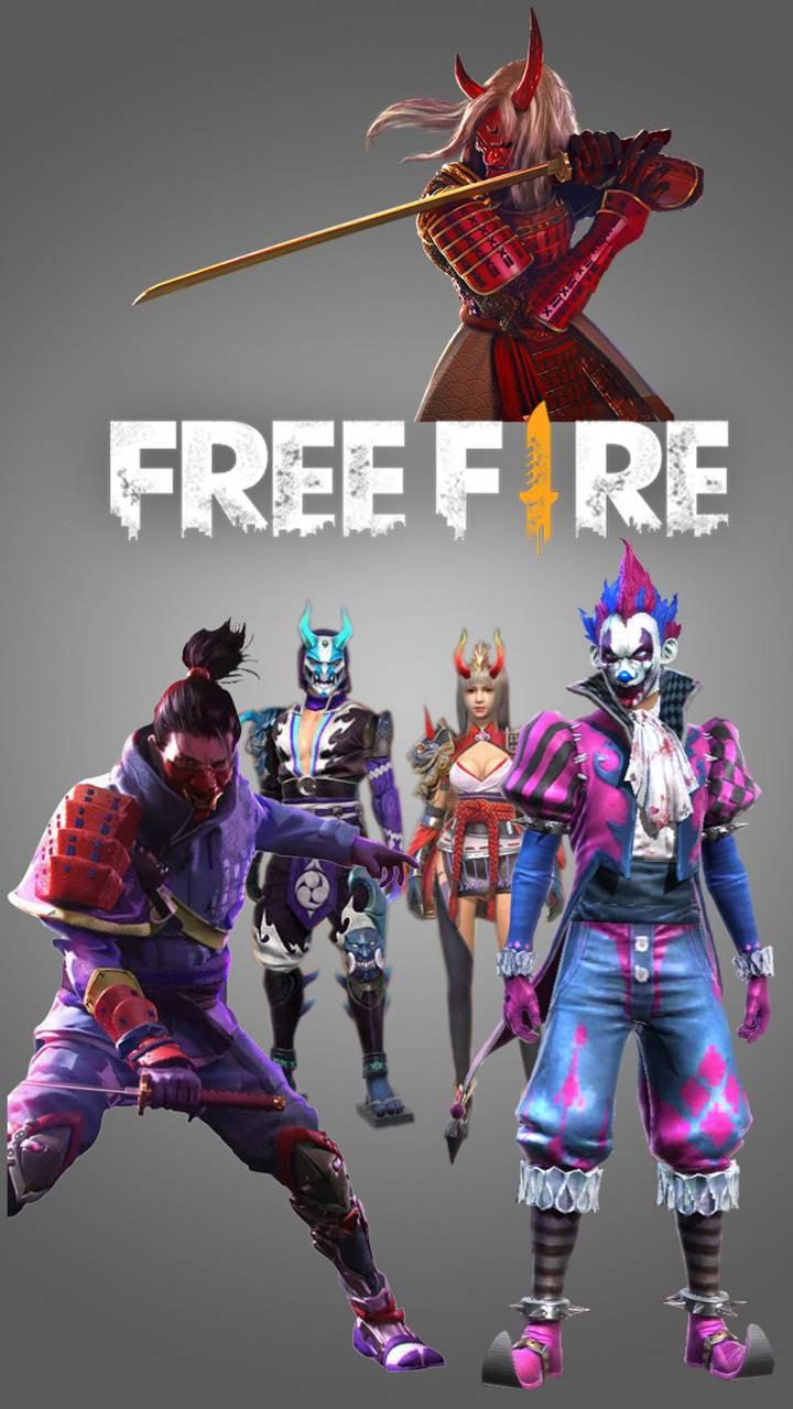 free fire samurai